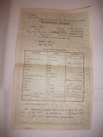 VIENNA WIEN DIPLOMA LICENZA PAGELLA CERTIFICATO DI LICENZIAMENTO ENTLASSUNGS ZEUGNIS 1926 - Diplomi E Pagelle