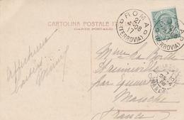 Roma D 17 Ferrovia 1908 - Cartolina Carte - Storia Postale