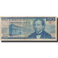 Billet, Mexique, 50 Pesos, 1978, 1978-07-05, KM:65c, TTB - Mexico