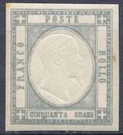 ITALIAN STATES NEAPOLITAN PROVINCES 1861  50gr Mint - Naples