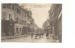 25 : Montbéliard - Rue Des Febvres - Animée : Belle Animation - Commerces - - Montbéliard
