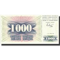 Billet, Bosnia - Herzegovina, 1000 Dinara, 1992, 1992-07-01, KM:15a, NEUF - Bosnia Erzegovina