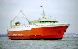 7X5 PHOTO OF VIKING IV - Boats
