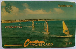 14CBDD Windsurfing B$10 - Barbados