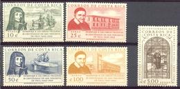 Costa Rica - 1960 - Yt 296/300 - Tricentenaire De La Mort De St. Vincent De Paul - ** - Costa Rica