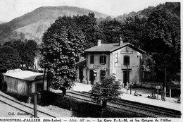 MONISTROL D ALLIER  La Gare Et Les Gorges De L Allier - France