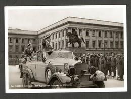 S/w Ak Aus Einer Serie, Photo Hoffmann, Nr. P 62, Kanzler Bei Seinen Truppen Im Warschau - Deutschland