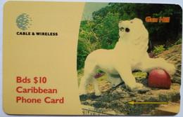 263CBDF Gun Hill B$10 - Barbados