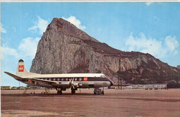 GIBRALTAR - The North Side Of The Rock As Seen From The Airport  (105610) - Gibraltar