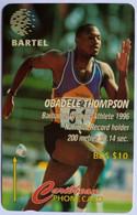125CBDB Obadele Thompson B$10 - Barbados