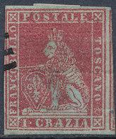 ITALIAN STATES TUSCANY 1851 1cr Used Lot#5 - Toscana