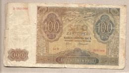 Polonia - Banconota Circolata Da 100 Zloty P-103b - 1941 - Polonia