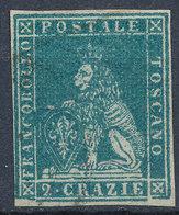 ITALIAN STATES TUSCANY 1851 2cr Used Lot#14 - Toscana