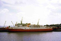 7X5 PHOTO OF VIKING III AT HARWICH 1970 CHARTER - Boats