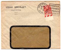 SEINE Et OISE - Dépt N° 78 = ARGENTEUIL 1931 = FLAMME DAGUIN ' ASPERGES / ET PRODUITS / AGRICOLES ' - Oblitérations Mécaniques (Autres)