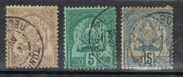 TUNISIE N°10, 11 Et 13 - Used Stamps