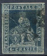 ITALIAN STATES TUSCANY 1851 6cr Used Lot#38 - Toscana