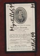 Faire-part De Décès - (1906) Memento Monsieur Joseph Tréanton - Landivisiau - Obituary Notices
