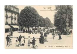 Troyes - Boulevard Du 14 Juillet - Animée - 59 - Troyes