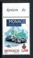 MONACO 2015 N° 2977 ** Neuf MNH Superbe Sport Automobile EPrix Formule E Voitures Courses Cars Transports - Monaco