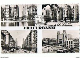 CPSM..69..VILLEURBANNE..PLACE DE LA LIBERATION..AVENUE HENRI BARBUSSE..LE THEATRE..3 SCANS..FORMAT CPA - Villeurbanne