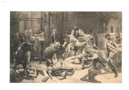 Reproduction Du Tableau De Sylvestre - Mort De Trencavel - 92 - Other Municipalities