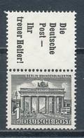 Berlin Zusammendruck S 10 ** Mi. 40,- - [5] Berlino
