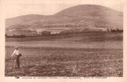 19 ENVIRONS DE LONZAC LES MONEDIERES ROUTE DE MADRANGES CIRCULEE 1949 - France