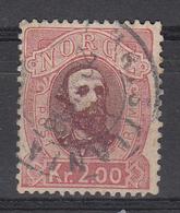 NOORWEGEN - Michel - 1878 - Nr 34 - Gest/Obl/Us - Norvège