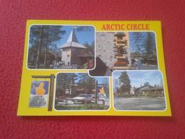 POSTAL POST CARD POSTCARD CARTE POSTALE FINLAND FINLANDIA SUOMI ARCTIC CIRCLE CÍRCULO POLAR ÁRTICO VER FOTO/S Y DESCRIPC - Finlandia
