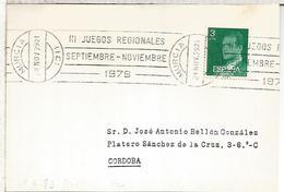MURCIA RODILLO 1979 III JUEGOS REGIONALES - 1931-Hoy: 2ª República - ... Juan Carlos I