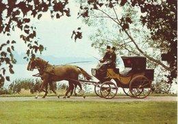 Postal Coach. Sweden. Used 1987.  B-9 - Postal Services