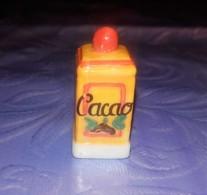 Fève Collection Boite De Cacao Vintage - Anciennes