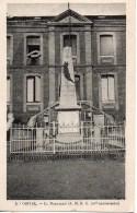 76 ORIVAL  Le Monument Aux Morts (A.M.R.C 10 E Anniversaire) - France