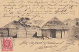 CASES INDIGENES A YARBUTENDA      + BEL AFFRANCHISSEMENT - Gambie