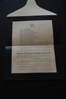 27 - Faire Part De Décès De M. Paul-Magloire-Théodore LEPRIEUR Le 24 Février 1934 ST GERMAIN VILLAGE - Obituary Notices