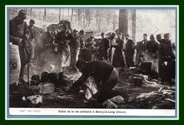 CPA Scéne De La Vie Militaire à Burcy Le Long Animée Non écrite TB  Guerre 1914 1915 - France