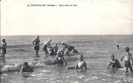 SOMME - 80 - QUEND PLAGE - Jeux Dans Le Bain - Quend