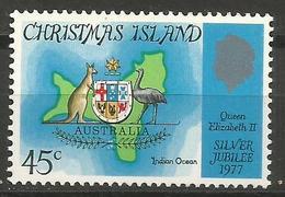Christmas Island - 1977 Silver Jubilee MNH **    Sc 85 - Christmas Island