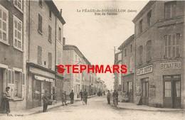 CPA 38 : PÉAGE DE ROUSSILLON - RUE DE SALAISE - édition CHALEAT - Other Municipalities