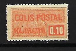 """FR Colis Postaux YT 77 """" Majoration 10c. Orange """" 1926 Neuf** - Paketmarken"""