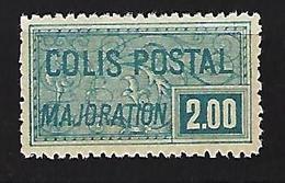 "FR Colis Postaux YT 79 "" Majoration 2F. Bleu "" 1926 Neuf** - Paketmarken"