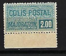 "FR Colis Postaux YT 79 "" Majoration 2F. Bleu "" 1926 Neuf** BDF - Paketmarken"