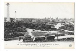 Cpa: 62 LE TOUQUET PARIS PLAGE (ar. Montreuil) Un Coin De Forêt (Train, Tramway, Phares) ND  N° 73 - Le Touquet