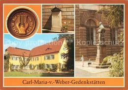 73070083 Dresden Carl Maria Weber Gedenkstaetten Blasewitz - Dresden