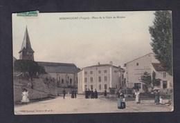 Remoncourt (88) Place De La Croix De Mission ( Animée Cliché Lorange ) - France