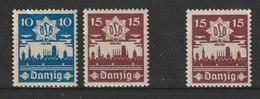 Danzig / Danziger Luftschutz (DLB) / MiNr. 267, 268 - Deutschland