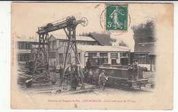 52 - Courcelles - Nogent-le-bas - Cour Intérieure De L'usine - Chemin-de-fer - Tramway - Frankrijk