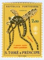 ST. THOMAS AND PRINCE ISLANDS, COLONIA PORTOGHESE, LOTTA ALLA MALARIA, 1962, NUOVI (MLH*) Michel 391   Scott 380 - St. Thomas & Prince