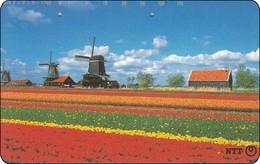 Japan Phonecard 111-058 Windmühlen Windkraft  Moulins à Vent  Windmills  -013 - Landschaften
